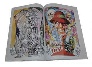 Tattoo Flash Book Art A3 50 50 Tattoo Art Project by Henri B Riton