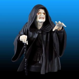 Gentle Giant Star Wars Return of the Jedi Emperor Palpatine Mini Bust