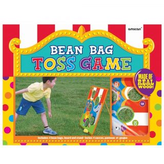 Carnival Circus Bean Bag Toss Kids Birthday Party Game