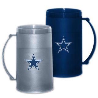Dallas Cowboys 15 oz Freezer Mug 2 Pack Home & Away H20 Mug Set
