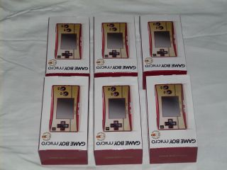 Nintendo Game Boy micro Special 20th Anniversary Edition Famicom Red