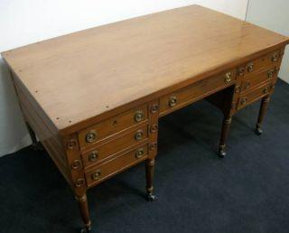 George Washington Partners Desk Mahogany Imperial Furniture Company