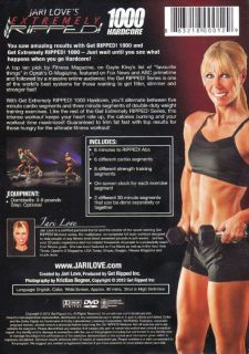 Jari Love Get Extremely Ripped 1000 Hardcore DVD New Toning Weights