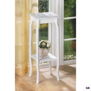 Marseilles White Romantic Country French Style Indoor Plant Stand