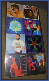Vintage Vinyl Records ~ Steppenwolf David Bowie George Carlin Santana