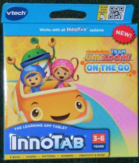 New Vtech InnoTab Learning Game Cartridge Nickelodeon Team Umizoomi on