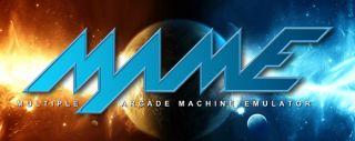 Arcade Game Cabinet Sticker Orange Blue Planet 10 Games Decal