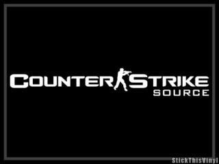 Counter Strike Half Life Video Game Decal Sticker 2X