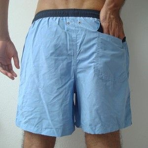 Gant Mens Swimming Board Shorts Trunks Light Blue s M