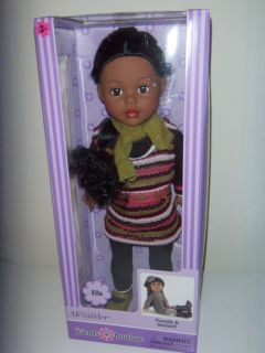 Madame Alexander Friends Boutique Ella Doll African American 18 inch