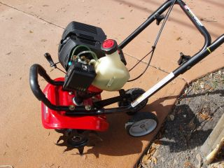 TROY BILT 4 STROKE MINI CULTIVATOR GARDEN TILLER EXCELLENT CONDITION
