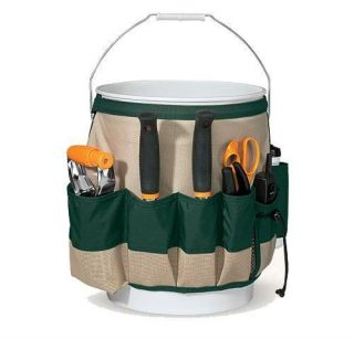 Fiskars 9424 Garden Bucket Caddy Yard Lawn Care Tools