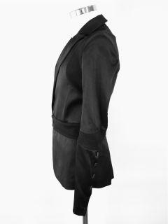 Gareth Pugh Blazer Black Futuristic Mens SzM at Socialite Auctions 9