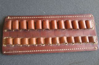 Vintage George Lawrence Holster Bullet Holder Ammunition Leather