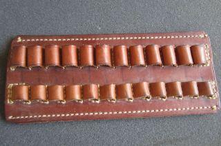 Vintage George Lawrence Holster Bullet Holder Ammunition Leather