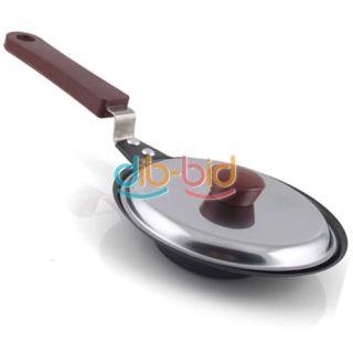 Pancake Stainless Steel Plum Flower Shaped Cook Fried Egg Pot Fry Pan