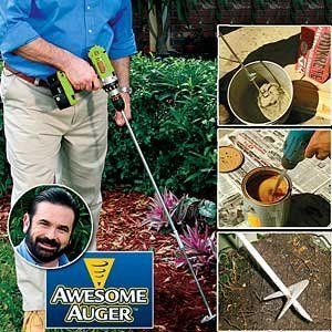 New Awesome Auger Professional Gardening Tool