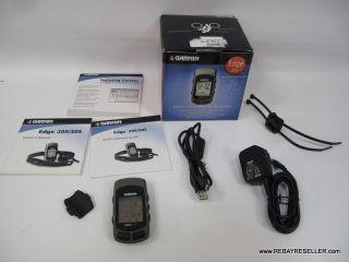 Garmin Edge 305 GPS Enabled Bicycle Bike Computer Cadence INCOMPLETE