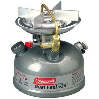 Coleman 1Burner Dual Fuel Sporter II Liquid Fuel Stove NEW