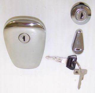 1998 2005 Suzuki VS800 Gas Fuel Tank Lock Cap Helmet Tool Box Lock