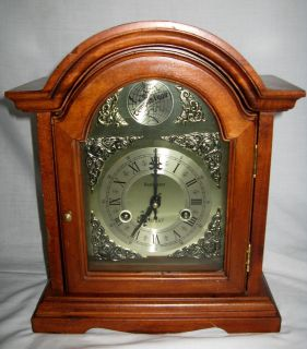 West Manor Tempus Fugit 31 Day Mantle Clock Very Nice