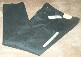 Jones New York Sport Stretch Charcoal Gray Shape Control Twill Jeans