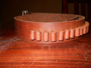 George Lawrence Brown Leather Belt 28 Large
