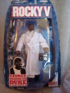 action figure boxing promoter george washington duke rare sealed
