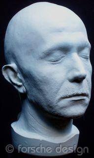 Gary Oldman Full Head Life Mask Lifecast Bust Commissioner Gordon Dark
