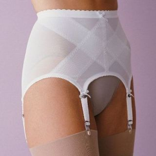 Retro Open Girdle Girdlette Garter Belt New Old Stock Size M L 2X 3X
