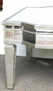 Funky Art Deco Mirrored Coffee Table Mirror Furniture