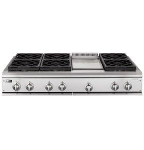48 Professional Stainless Steel Gas Cooktop 53 Off $4 495 MSRP