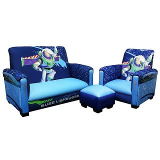 Toy Story 3 Buzz Kids Furniture 3 PC Couch Chair