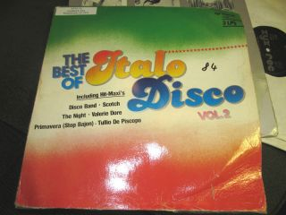LP Best of Italo Disco Vol 2 Valerie Dore Fake Savage Cyber People