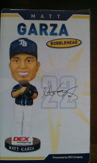 Matt Garza Bobblehead Tampa Bay Rays Cubs Baseball