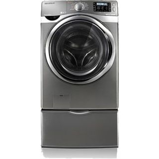 New Samsung WF520ABP 4 3 CU ft Stainless Steel Tub F…