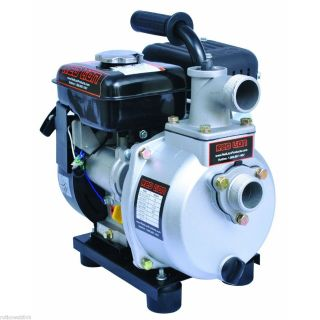 2RLAG 1 Gasoline Powered 2 4 HP OHV Engine Driven 1 5 Inch Water Pump