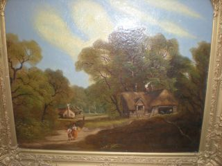 SIDNEY RICHARD PERCY 1881 signed listed artist landscape oil painting