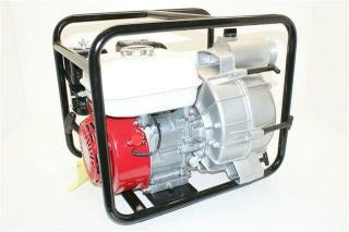 New 3 Honda Powered Full Trash Water Pump 5 5 HP Engine