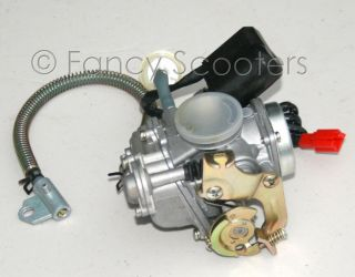 139QMB Gas Scooter Carburetor with Fuel Filter 50cc Gas Scooters