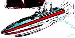 138cm Wakeboard w Fin System Wake Board Miami Vice Scarab 38KV 1911 s