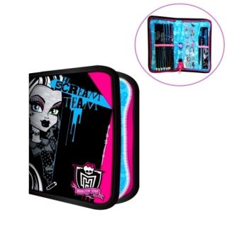 High The Scream Team Filled Pencil Case Stationery New Gift