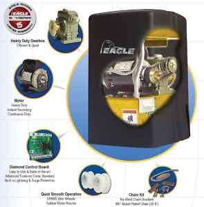 Eagle 1000FSC Residential Fail Secure Slide Gate Opener