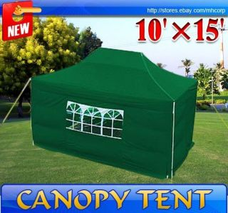 Pop Up Canopy Wedding Party Tent Gazebo Canopy with Carry Case