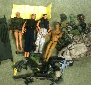 Gi Joe Action Figures Plus Accessories System Control Headquarters