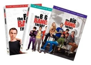 New The Big Bang Theory DVD 1 3 Seasons 1 2 3