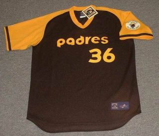 Gaylord Perry San Diego Padres 78 Throwback Jersey XXL