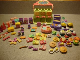 Littlest Pet Shop Lot ♥ Treat Center Food Accessories