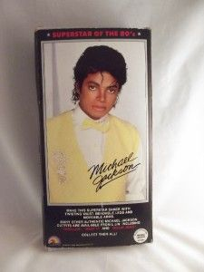 Michael Jackson Beat It Doll Original Box Figure Great Superstars of