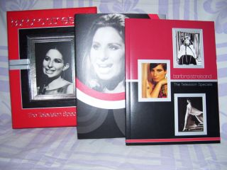 Barbra Streisand the Television Specials Boxed DVD Set with Book